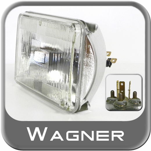 Wagner Lighting H4656 Headlight Bulb Halogen Bulb