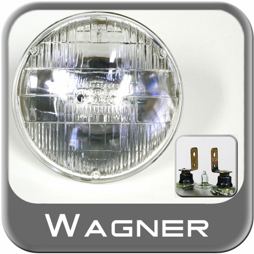 Wagner Lighting H5001 Headlight Bulb Halogen Bulb