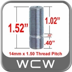 14mm x 1.50 Wheel Stud