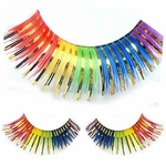 Amazing Rainbow Eye Lashes with Self Adhesive