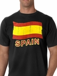 Vintage Spain Waving Flag Men's T-Shirt