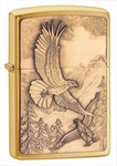 Where Eagles Dare Emblem Brass Zippo