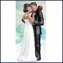 African American Dancing Couple Figurine
