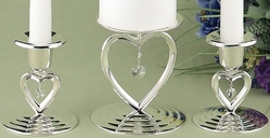 Heart-to-Heart Candle Holder Set