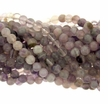 8mm Light Amethyst Round Beads -B (16 Inch Strand)