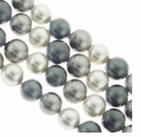 Multi Color 616 10mm South Sea Pearls 16-Inch Strand