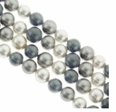 Multi Color 616 4mm South Sea Pearls 16-Inch Strand