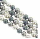 Multi Color 616 6mm South Sea Pearls 16-Inch Strand