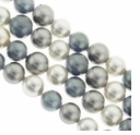 Multi Color 616 8mm South Sea Pearls 16-Inch Strand