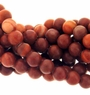 Red Malachite Beads