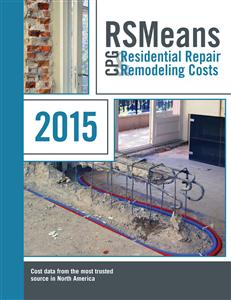 Means Contractor's Pricing Guide: Residential Repair & Remodeling 2015