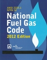 NFPA 54 National Fuel Gas Code 2012 Edition