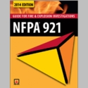 NFPA 921- 2014 Guide for Fire and Explosion Investigations