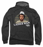 2 Broke Girls Hoodie Sweatshirt Ladies Man Charcoal Adult Hoody
