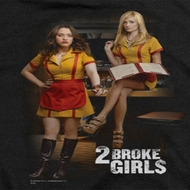 2 Broke Girls Max And Caroline Shirts