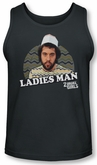 2 Broke Girls Tank Top Ladies Man Charcoal Tanktop