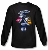 2 Fast 2 Furious Shirt Movie Fast Women Black Long Sleeve Shirt