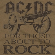 ACDC For Those About To Rock Shirts