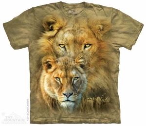 African Royalty Shirt Tie Dye Adult T-Shirt Tee