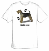 Airedale Terrier T-shirt Dog Adult Tee Shirt