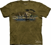 Animal Shirt Tie Dye T-shirt The Gathering Place Adult Tee