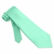 Aqua Blue Silk Extra Long Tie Necktie � Men�s Holiday Neck Tie