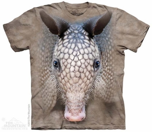 Armadillo Face Shirt Tie Dye Adult T-Shirt Tee