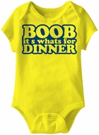 Baby Funny Romper Eat Your Trees Infant Yellow Babies Creeper