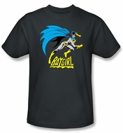 Batgirl Kids T-shirt - Batgirl Is Hot DC Comics Charcoal Gray Youth