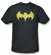 Batgirl Kids T-shirt - Logo Distressed DC Comics Charcoal Youth