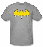 Batgirl T-shirt � Logo DC Comics Adult Athletic Heather Tee
