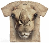 Big Camel Face Shirt Tie Dye Adult T-Shirt Tee