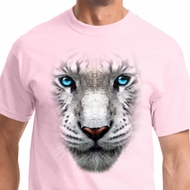 Big White Tiger Face Shirts