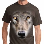 Big Wolf Face Shirts