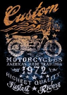 American Made Tradition Biker T-shirt