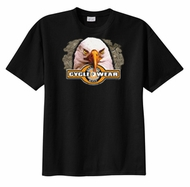 Biker T-shirt - Cycle Wear Eagle Tee
