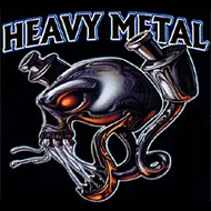 Biker T-shirt - Heavy Metal Tee