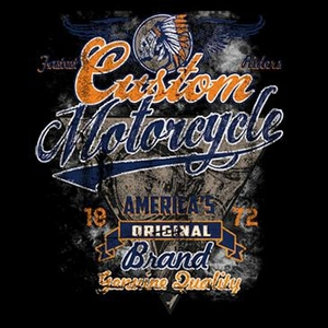 Biker Tee Shirt - Fastests Riders Custom Motorcycle