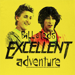 Bill and Ted Shirts