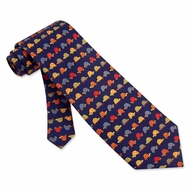 Box Turtles Silk Tie Necktie - Men's Animal Print Neck Tie