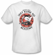 Bruce Lee Kids T-shirt Youth Jeet Kune Do Kung Fu Academy White