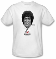 Bruce Lee Kids T-shirt Youth Self Help White