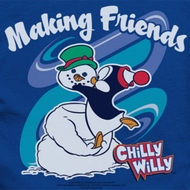 Chilly Willy Making Friends Shirts