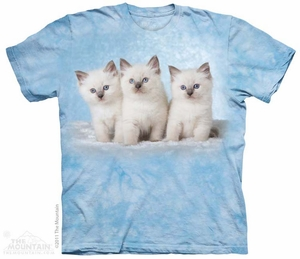 Cloud Kittens Shirt Tie Dye Adult T-Shirt Tee