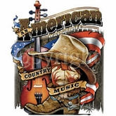 Country Music T-Shirt - American Way Patriotic Adult Tee