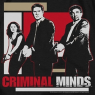 Criminal Minds Guns Drawn Shirts