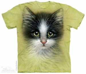 Cute Kitten Shirt Tie Dye Adult T-Shirt Tee