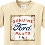 Distressed Genuine Ford Parts Kids Shirts