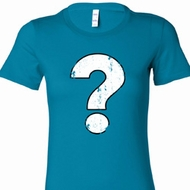 Distressed Question Ladies Shirts