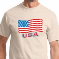 Distressed USA Flag Shirts